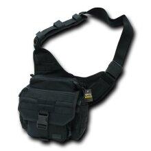 RAPDOM Tactical Field Bag, Black, 10 W x 11 H x 5.5 D