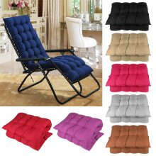 Replacement Sun Lounger Cushion Outdoor Garden Patio Recliner Thick Padded Spare