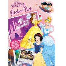 Disney Princess Life is an Adventure Shaped Sticker Pad