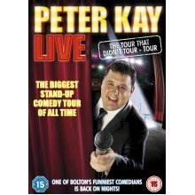 Peter Kay Live - The Tour That Didn't Tour Tour [DVD] (2011) New Sealed UK Region 2 - Used