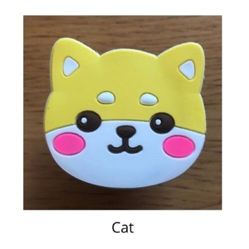 (Cat) mobile phone holder Socket Finger grip Stand UK