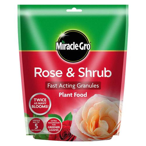 Miracle-Gro Rose & Shrub Fast Acting Granules Plant Food 750g