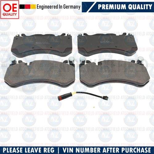 FOR MERCEDES GLE63 ML63 GL63 GLE43 AMG FRONT GERMAN BRAKE PADS WEAR WIRE SENSOR