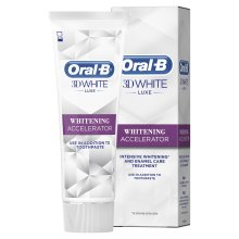 Oral-B 3D White Luxe Whitening Accelerator, 75 ml