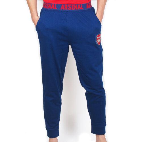 Arsenal FC Official Football Gift Mens Premium Long Pyjamas Set