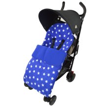 Fleece Footmuff CosyToes Compatible with Tippitoes Move Spark Fuse Max Blue Star