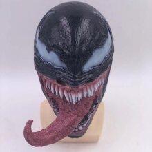 Let There Be Carnage Venom Cosplay Halloween Mask Horror Superhero Marvel Comics