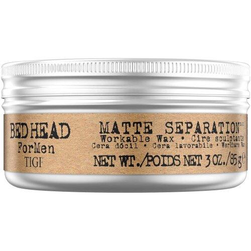 Bed Head for Men By Tigi Matte Separation Hair Wax, 85g
