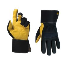 Kunys 270L Hybrid-270 Top Grain Leather Cuff Gloves Large (Size 10)