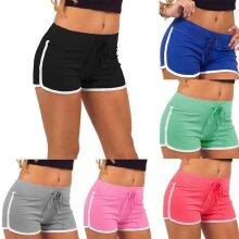 Women's sports shorts gym jogging beach hot pants