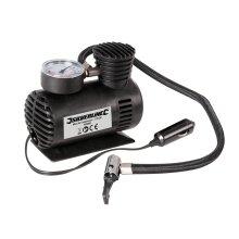 Silverline Automotive Vehicle Tyre Inflator Mini Air Compressor Pump 12V DC ( UK )