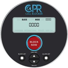 CPR V10000 Call Blocker for Landline Phones. Dual Mode Protection to Allow and Block Numbers. Pre-Loaded with 10,000 Known Nuisance Scam Numbers