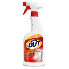 Iron OUT Spray Gel Rust Stain Remover, Remove and Prevent Rust Stains in Bathrooms, Kitchens, Appliances, Laundry, and Outdoors, 16 Ounce