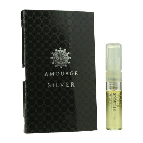 Amouage 'Silver' Eau De Parfum Spray For Man .05oz Carded Vial (OriginalFormula)