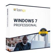 Windows 7 Professional - 32/64 Bit - Download - 1 PC - Key