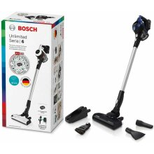 Bosch Home Unlimited Series 6 Vacuum Cleaner Without Cable, 0.3 Litres, 2 Speed