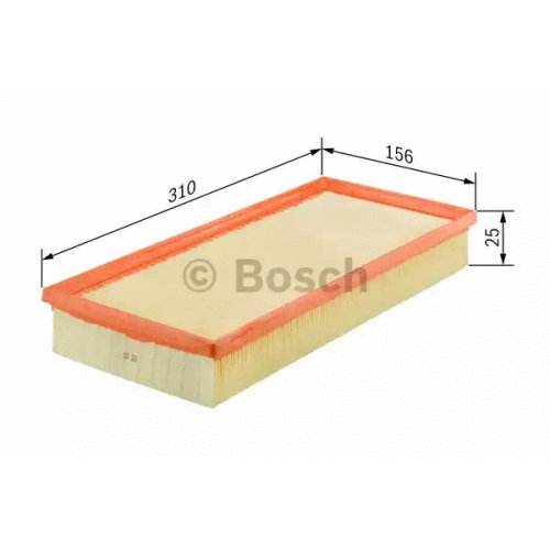 Air Filter BOSCH F 026 400 152