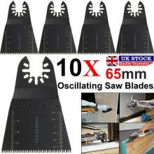 10 X Oscillating Saw Blades Multi Tool For Makita Fein Dewalt Bosch