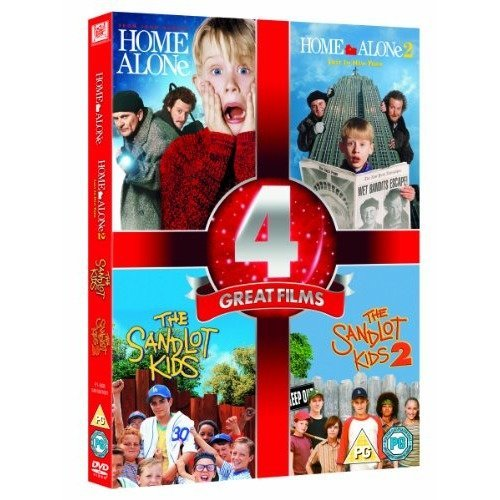 Home Alone / Home Alone 2 - Lost In New York / The Sandlot Kids / The Sandlot Kids 2 DVD [2012]