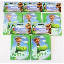 Pack of 30 The Good Dinosaur Invitations and envelopes - Disney Party Invites