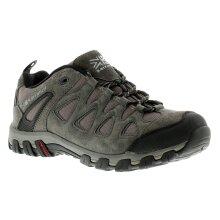 Karrimor Supa 5 Mens Suede Walking Shoes Grey/Brown/Black UK Size 6
