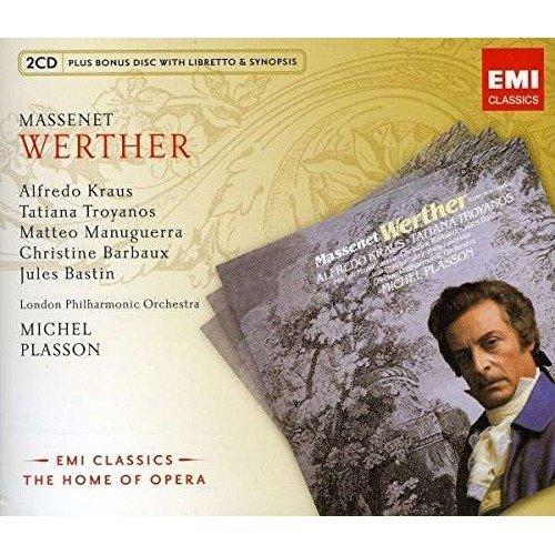 Erasure - Massenet: Werther (home of Opera) / London Philharmonic Orchestra, Plasson, Kraus, Troyanos, Barbaux [CD]