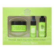 CB&CO: Enzyme Rich Protein Hyaluronic Set Day, Night Cream, Oil Eye Serum