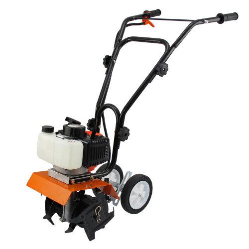 T-Mech 52cc Mini Garden Tiller | 2-Stroke Cultivator Tool