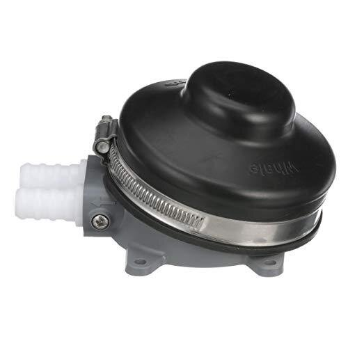Whale GP4618 Compact Manual Fresh Water Foot Operated Pump - Black