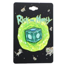 Rick and Morty Mr. Meeseeks Box Enamel Collector Pin