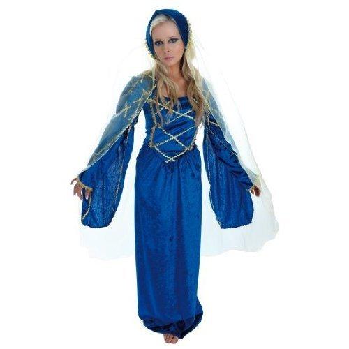 UK 16-18 Ladies Medieval Tudor Renaissance Princess Fancy Dress Costume