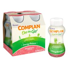 Complan On the Go Strawberry Flavour 200ml x 4