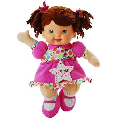 Babys First Little Talker Doll Brunette by Goldberger Doll Mfg.