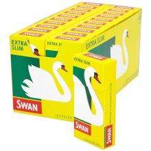 2400 PCS (20 PACKS X 120 PCS) SWAN EXTRA SLIM PRE CUT FILTER TIPS CIGARETTE SMOKING