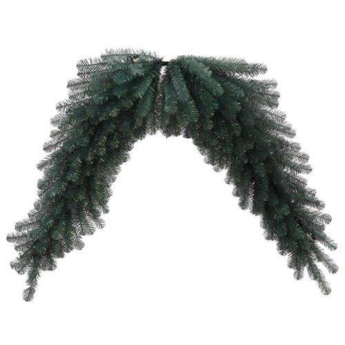 Vickerman N131810 Blue Crystal Pine Swag Garland - 6 ft.