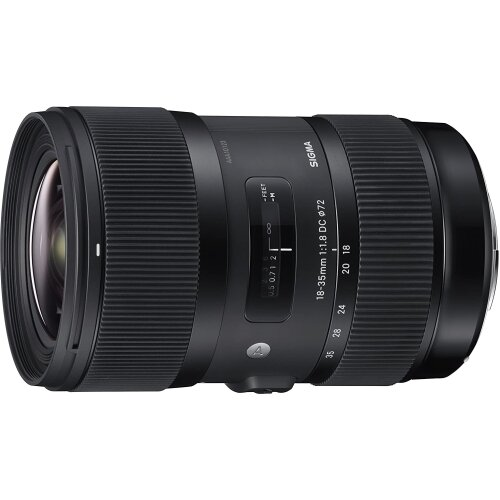 Sigma 18-35mm F1.8 Art DC HSM Lens for Canon, Black (210101)