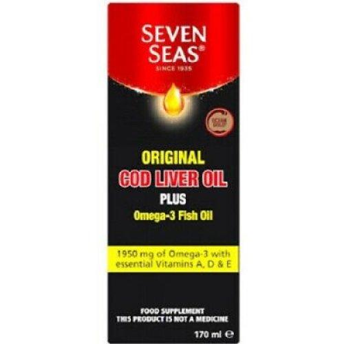 (300ML) Seven Seas Original Cod Liver Oil Plus