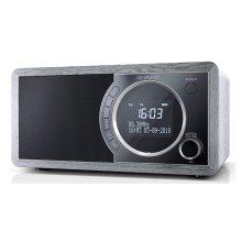 Sharp DR-450(GR) 6W DAB+ FM Bed Side Radio with Bluetooth & LED Display - Grey
