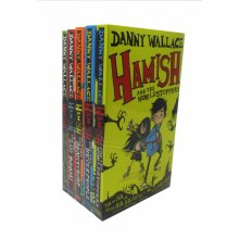 Danny Wallace's Collection Hamish Series 5 Books Collection Set