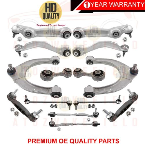 FOR BMW 5 6 F10 F11 F12 F13 F18 FRONT SUSPENSION WISHBONES ARMS LINKS ROD ENDS