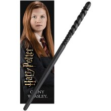 Noble Collection PVC Ginny Weasley Magic Wand & Bookmark Set