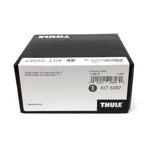 Thule Evo Fitting Kit 5087 Fiesta 2008-15 Without Roof Attachments