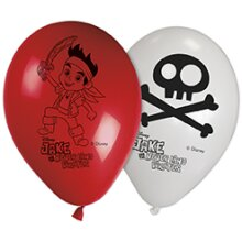 Jake and the Neverland Pirates Latex Balloons 8pk
