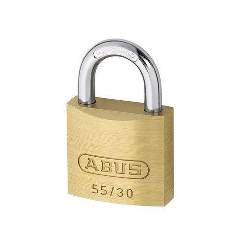 ABUS KA02862 55/30 30mm Brass Padlock Keyed 5301