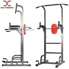 Heavy Duty Dip Station Pull Up Bar Fitness Power Tower Body Martial Arts MMA