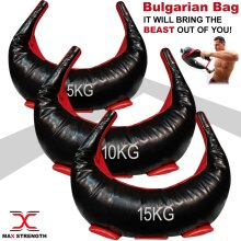 Bulgarian Weighted Bag Training Handles Gym Weight Lifting Crossfit