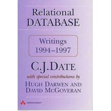 Relational Database Writings 1994-1997 - Used