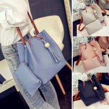 Women Designer PU Leather Large Tote Shoulder Bag Handbag Casual Ladies Bags