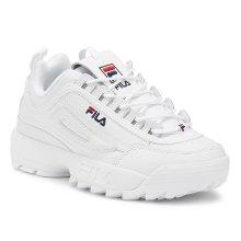 Fila Disruptor II Premium Womens White Trainers