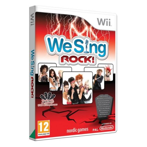 We Sing Rock Wii Game Only